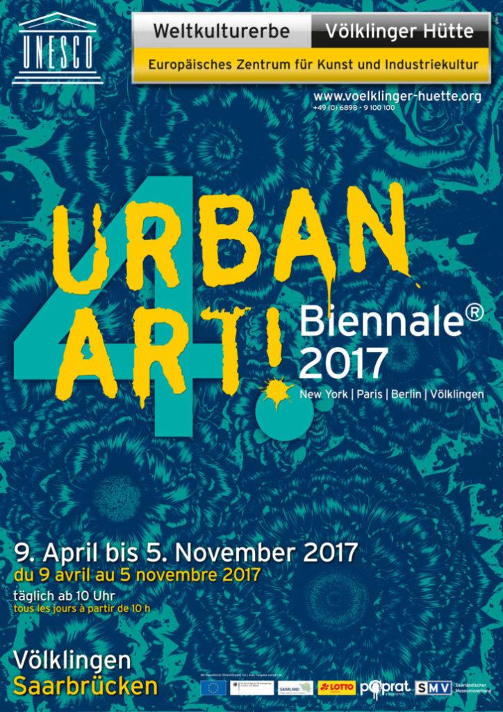 Expo d'art urbain - Street Art et graffitis à Voelklingen (Saarland)